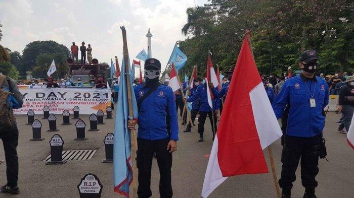 Inilah Tuntutan Massa Buruh yang Gelar May Day di Istana Negara dan Gedung MK