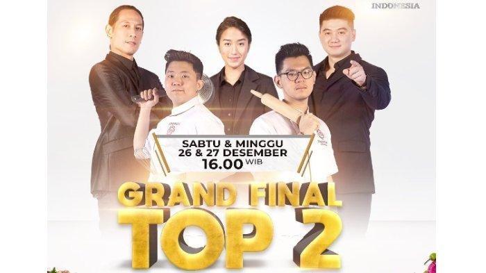 Juara MasterChef Indonesia Season 7 Ditentukan, Aksi Audrey vs Jerry di Link Video Streaming RCTI