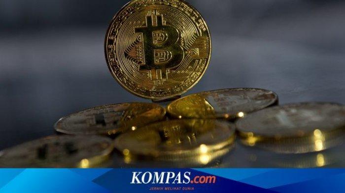 mata uang kripto bitcoin.