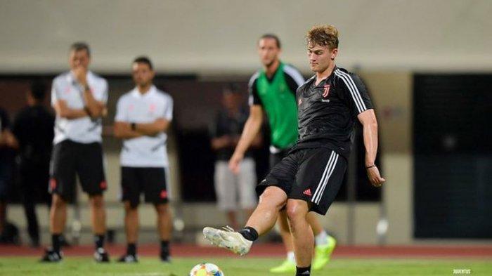 Hasil Juventus vs Inter Milan di ICC 2019 Babak Pertama, Skor Sementara 0-1, Gol Bunuh Diri De Ligt