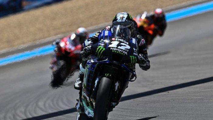 Hasil MotoGP Emilia Romagna 2020 : Vinales Bayar Kegagalan, Quartararo Dapat Penalti