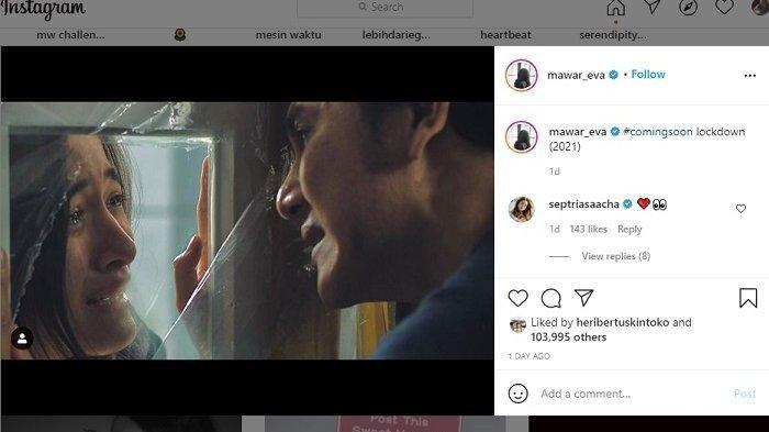 Proyek Film Mawar De Jongh dan Vino Bastian Picu Rasa Penasaran Para Fans