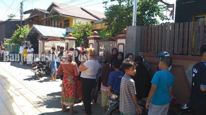 BREAKING NEWS: Mayat Perempuan Ditemukan di Dalam Kamar Tidur di Kebun Bunga Banjarmasin