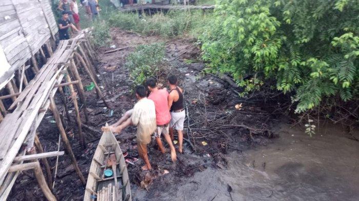 Kartulah Tewas Kesetrum Kabel Beraliran Listrik Saat Mandi di Sungai
