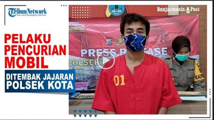 VIDEO Melawan Saat Diamankan, Residivis Pencurian Mobil Asal Kabupaten Banjar Ditembak