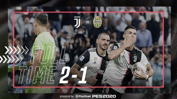 Hasil Lengkap Liga Italia - Ronaldo Gemilang Juventus Menang, AC Milan Tumbang, Inter Sempurna