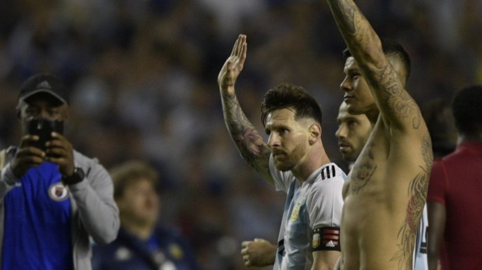 Massa Ancam Bakar Jersey Lionel Messi, Laga Israel vs Argentina Jelang Piala Dunia 2018 Batal!