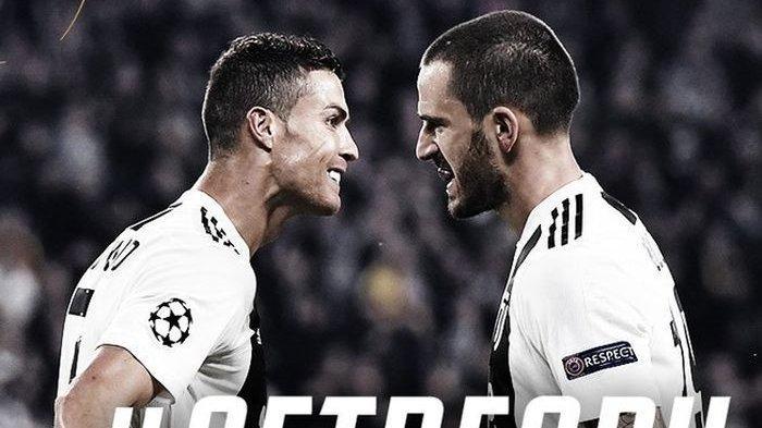 Allegri 'Hukum' Bonucci dan Ronaldo, Kapten Italia Dicopot dari Status Wakil Kapten Juventus