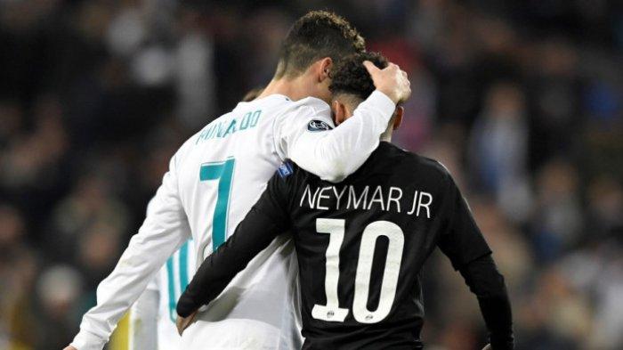 Sikap Neymar di PSG Pengaruhi Masa Depan Cristiano Ronaldo dari Juventus Musim Depan