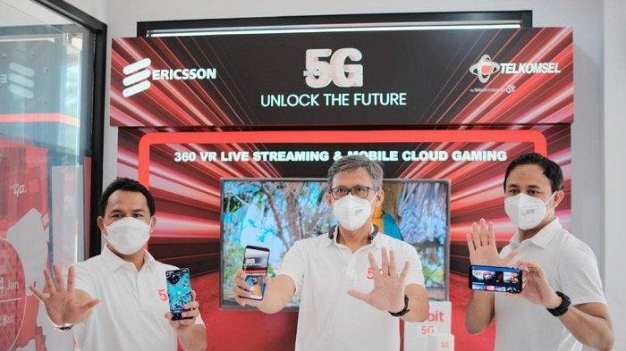 Balikpapan Kota Pertama di Kalimantan Rasakan Telkomsel 5G, Medan dan Surakarta Juga Dilayani