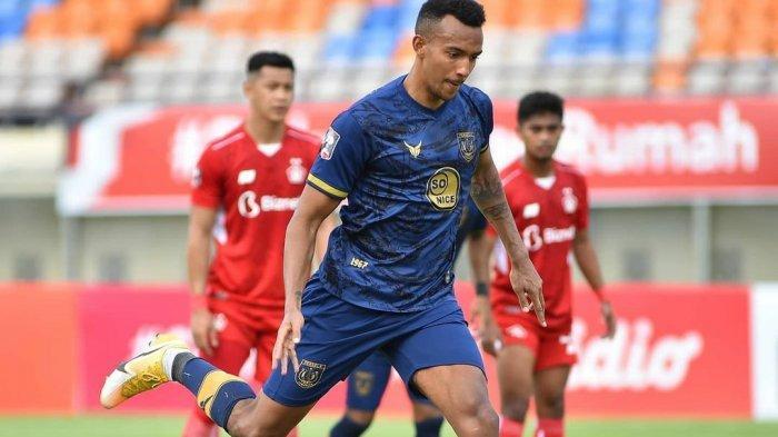 Hasil Piala Menpora Persela vs Persik Skor 2-1 di Babak 1, Kartu Merah dan Dua Gol Melvyn Lorenzen