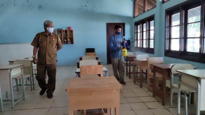 PTM di Tabalong Dihentikan Sementara, SMPN 1 Tanjung Kembali Gelar Pembelajaran Daring