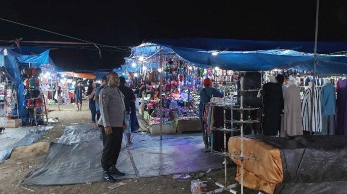 Aipda Jefry Aktif Membaur di kerumunan Warga Angsana Tanahbumbu untuk Cegah Tindak Kejahatan