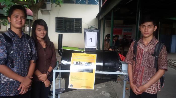 Hebat! Mahasiswa UNY Berhasil Ciptakan Mesin Pengering Padi Portabel