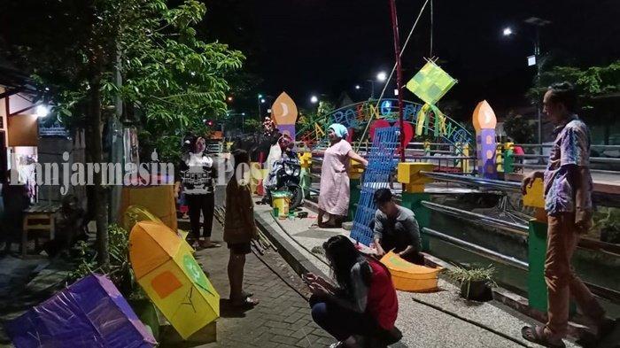 Wisata Kalsel, Warga Berharap Festival Selikur Banjarbaru Bisa Berlanjut Terus