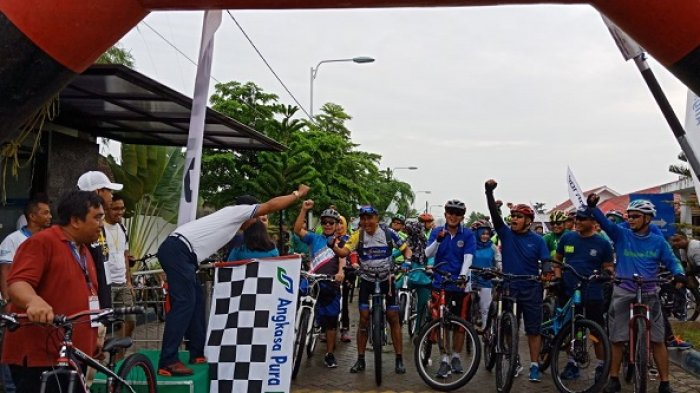 250 Goweser Ramaikan Gowes Sehat Angkasa Pura 1