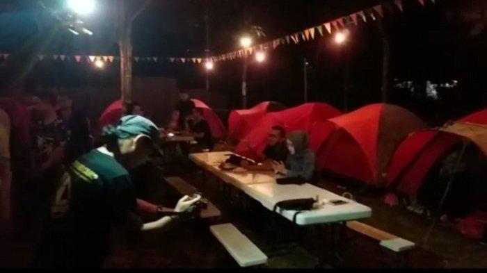 Menginap di Dalam Tenda Tepi Sungai Loksado Berhawa Dingin, Rasakan Sensasi Ini