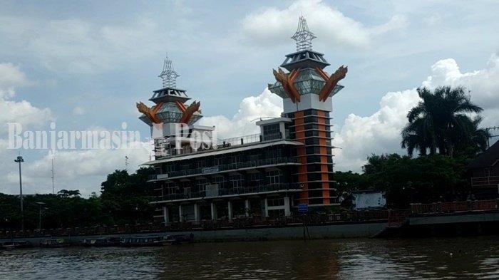 Melihat Wilayah Kota Banjarmasin Kalsel dari Ketinggian, Ayo ke Siring Menara Pandang Saja