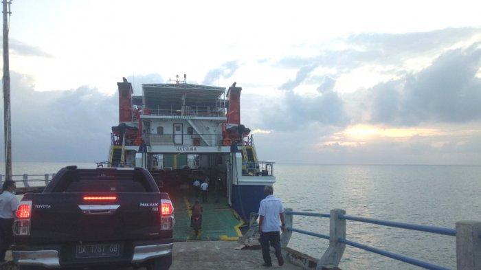 Kalselpedia, Tarif Feri Telukgosong-Tanjung Nusantara Pulau Sebuku untuk Roda Dua Rp 42 Ribu
