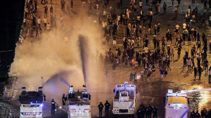 2 Orang Tewas, 292 Ditangkap, Penjarahan Toko Terjadi Saat Perayaan Prancis Juara Piala Dunia 2018