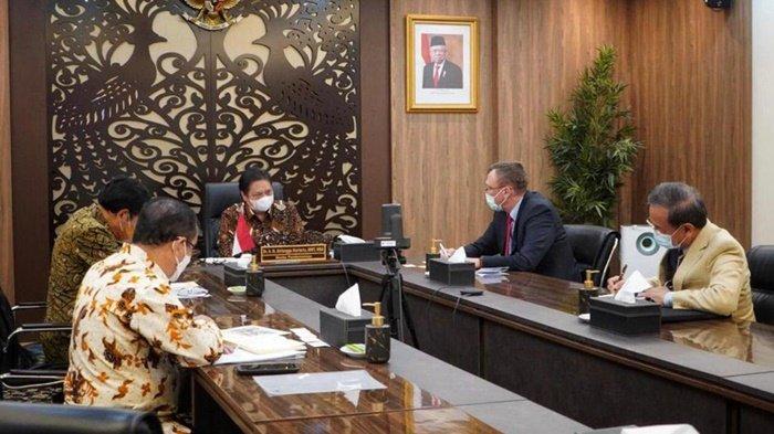 Menko Airlangga Terima Audiensi Komite Internasional Palang Merah