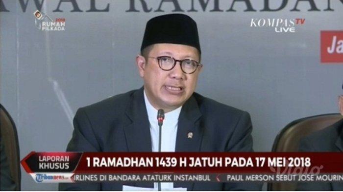 Kemenag RI Resmi Umumkan Awal Puasa 2018, 1 Ramadhan 1439 H Pada Kamis, 17 Mei