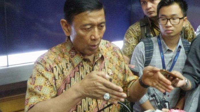 Detik-detik Menkopolhukam Wiranto Diserang Pria di Padeglang, Banten, Jawa Barat