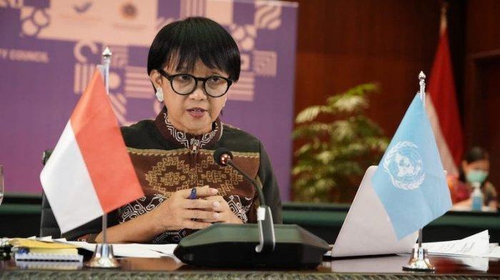 Menteri Luar Negeri Retno Marsudi Rabu (12/8/2020).