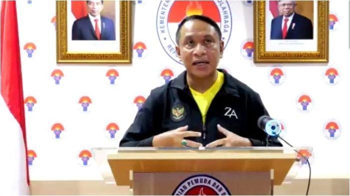 Menteri Pemuda dan Olahraga Zainudin Amali mengapresiasi hadirnya Tribun-Papua.com di Bumi Cenderawasih.