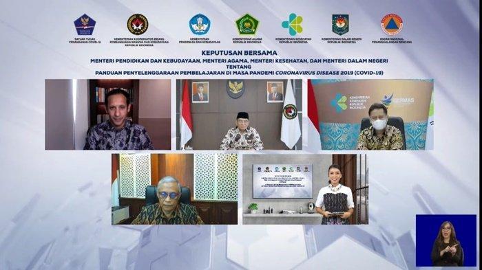 Menteri Pendidikan Nadiem Makarim Targetkan PTM pada Juli 2021