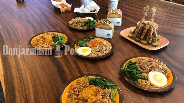 Kuliner Kalsel, Konsep Food Factory Diusung Warung Wakaka Banjarmasin