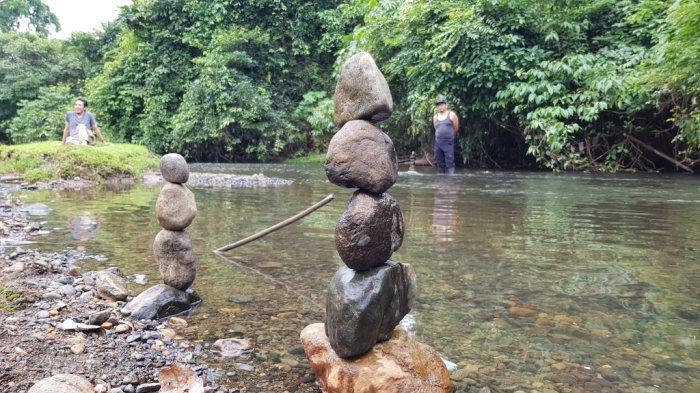 Wisata Kalsel - Gosong Sungai Alam Riamadungan Tanahlaut, Tempat Ideal untuk Camping