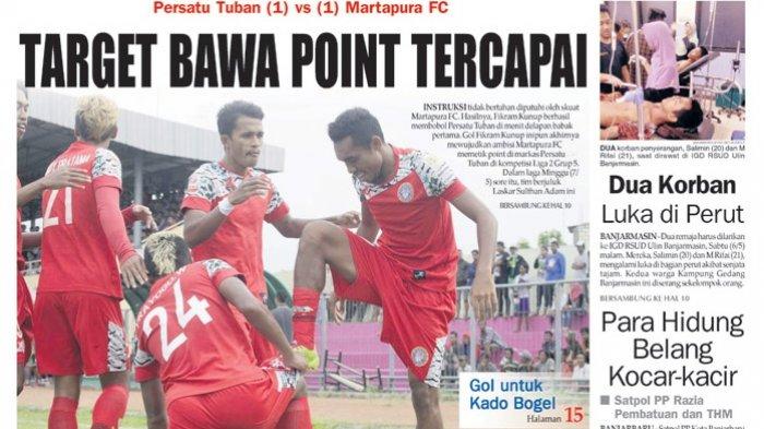 Persatu Tuban vs Martapura FC: Target Bawa Point Tercapai