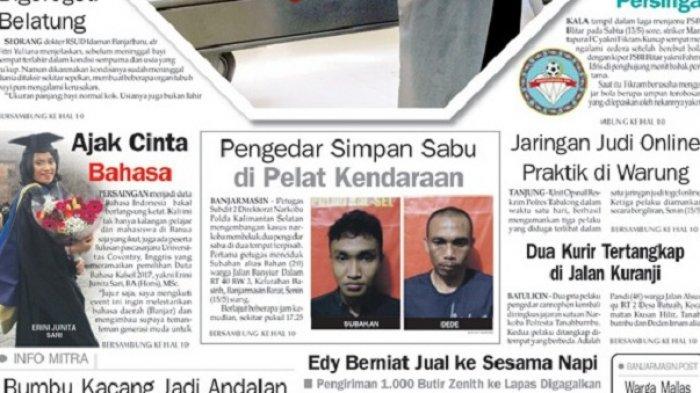 Nekat, Tiga Pelaku Jaringan Judi Online Lakukan Transksi di Warung