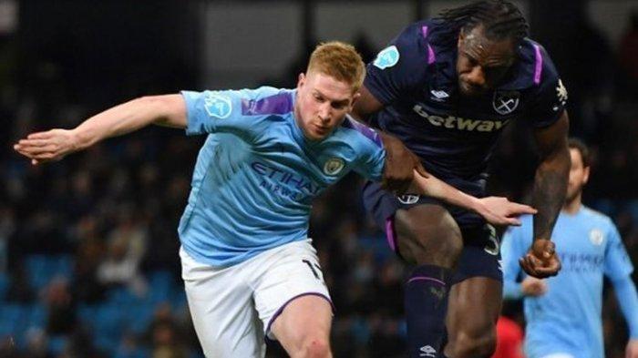 Man City vs West Ham Liga Inggris Live Streaming TV Online Mola, Pep Masih Belum Puas Menang 19 Kali