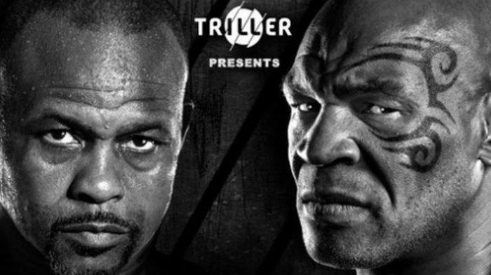 Jadwal Tinju Dunia Mike Tyson vs Roy Jones Jr Live BT Sport, Tak Live TVOne & ESPN