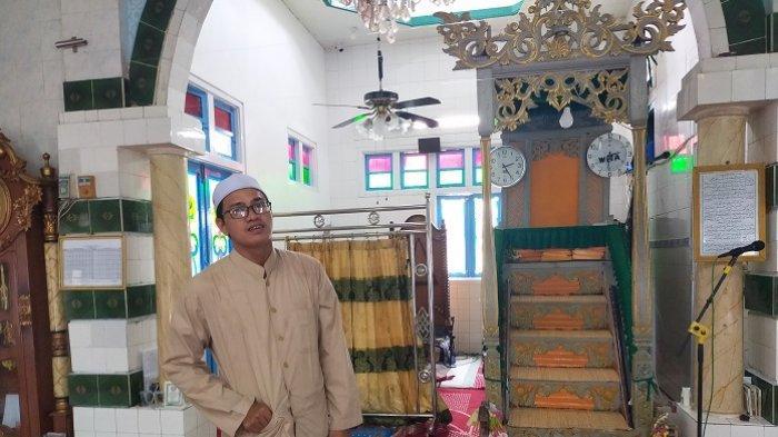 Wisata Kalsel : Ada Sejak 1804, Begini Penampakan Mimbar Masjid Jami Sungai Banar