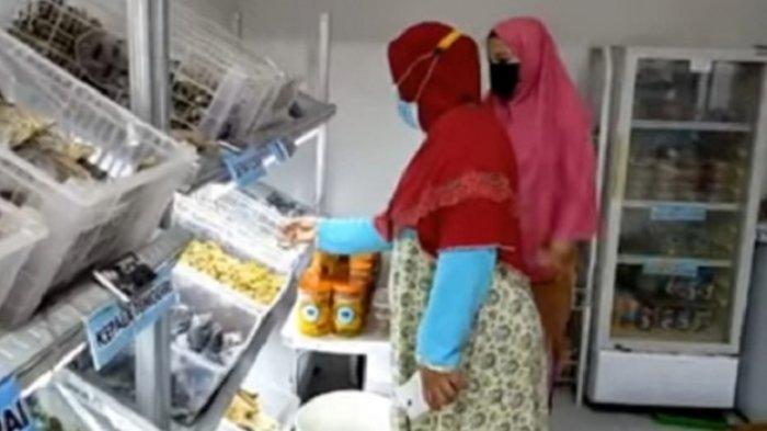 Jual Aneka Jenis Ikan Asin, Produk Mini Market di Banjarbaru ini Dijual Sampai ke Luar Negeri
