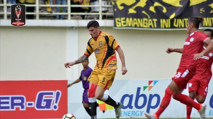 VIDEO - Mitra Kukar Vs Martapura FC, Sundulan Fernando Rodrigues Buyarkan Misi Laskar Sulthan Adam