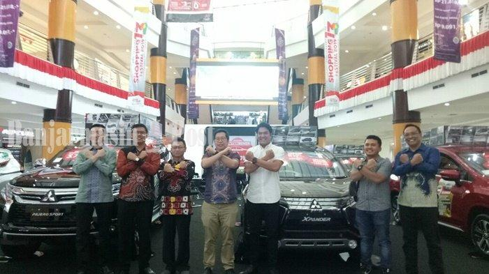 Gelar Auto Show 2019 di Duta Mall Banjarmasin, Mitsubishi Motors Pamerkan XPander dan Pajero Sport
