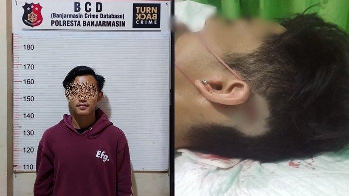 Takut Pacar Direbut, Remaja 17 Tahun di Banjarmasin Kalsel Ini Tusuk Seteru di Depan Kosan