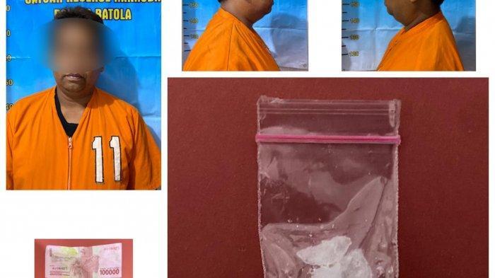 Narkoba Kalsel, Satresnarkoba Polres Batola Amankan Warga Bawa Sabu di Komplek Messi