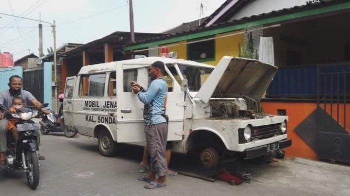 Mobil jenazah yang dibeli Lilik pria asal Makamhaji Sukoharjo