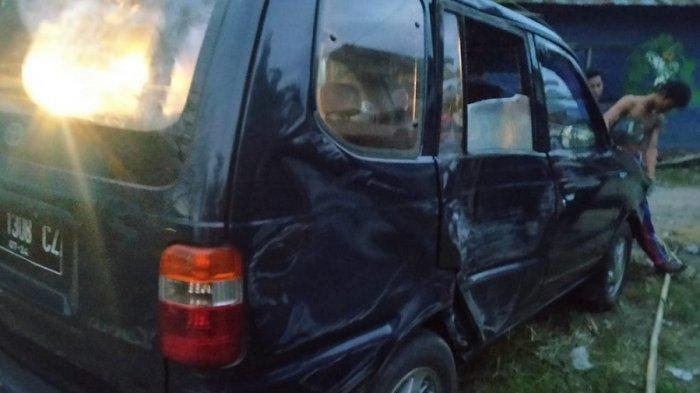 BPK 023 Taguda Binderang Tapin Berduka Cita, Seorang Anggotanya Tewas Ditabrak Mobil