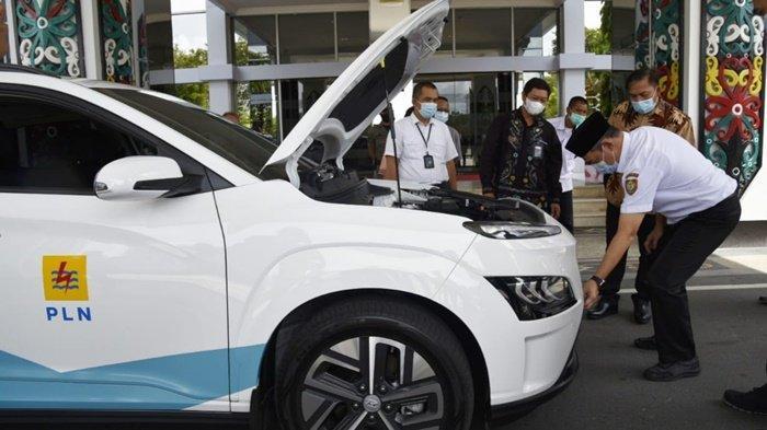 Sekda Fahrizal Tertarik Mobil Listrik, Memungkinkan Dipakai di Lingkungan Pemprov Kalteng