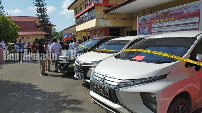 Petugas Polda Kalsel Cari Mobil yang Digadaikan Pelaku Hingga Sampit