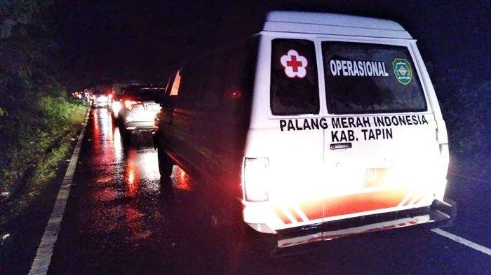 Ruas Jalan Trans Kalimantan di Mataraman Kabupaten Banjar Terendam, Lalu Lintas Terganggu
