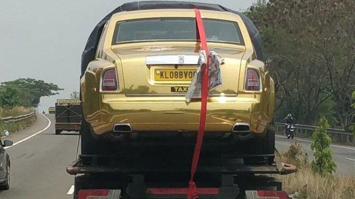 Waduh! Mobil Rolls-Royce Seharga Rp 23 Miliar Ini di India Turun Kasta, Cuma Jadi Mobil Carteran