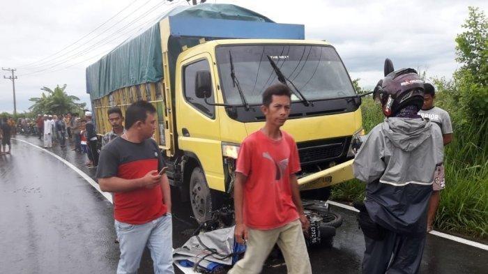 Kronologi Tabrakan Truk vs Motor di Labuan Amas Utara Versi Kasatlantas Polres HST
