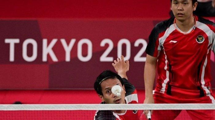 Jadwal & Link Streaming Badminton Olimpiade Live TVRI & Indosiar Hari Ini, Ahsan/Hendra di Semifinal